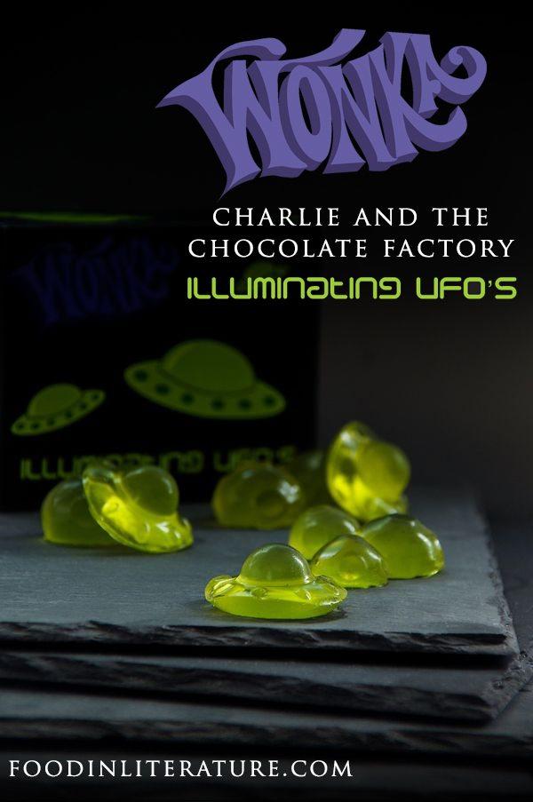Willy Wonka Series; Luminous Lollies