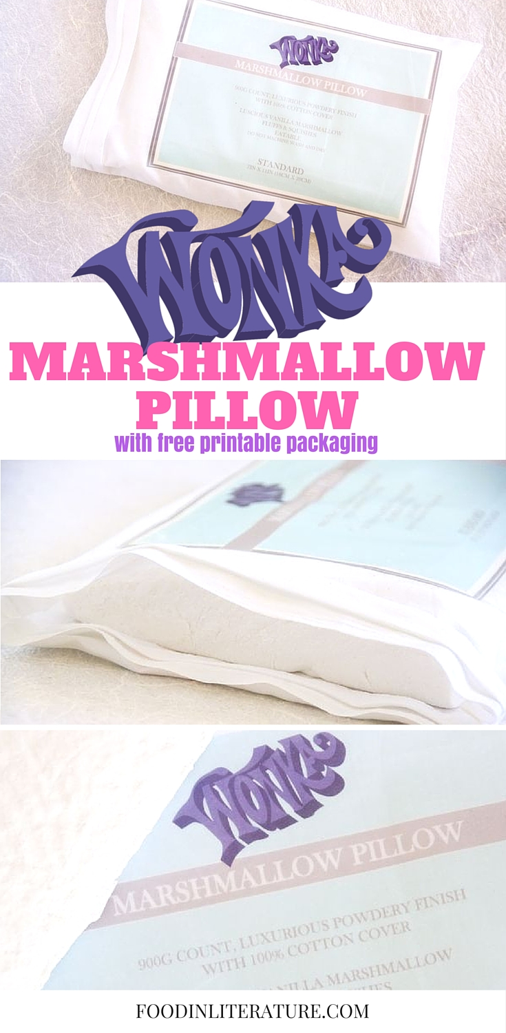 Willy Wonka Series; Eatable Marshmallow Pillows