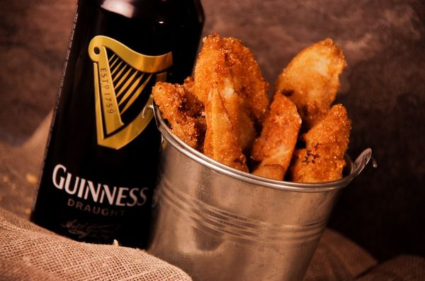 Ulysses; Guinness Battered Chips