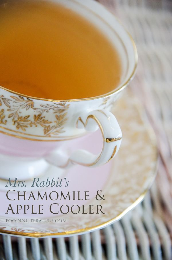 Peter Rabbit; Mrs. Rabbit's Camomile and Apple Cooler