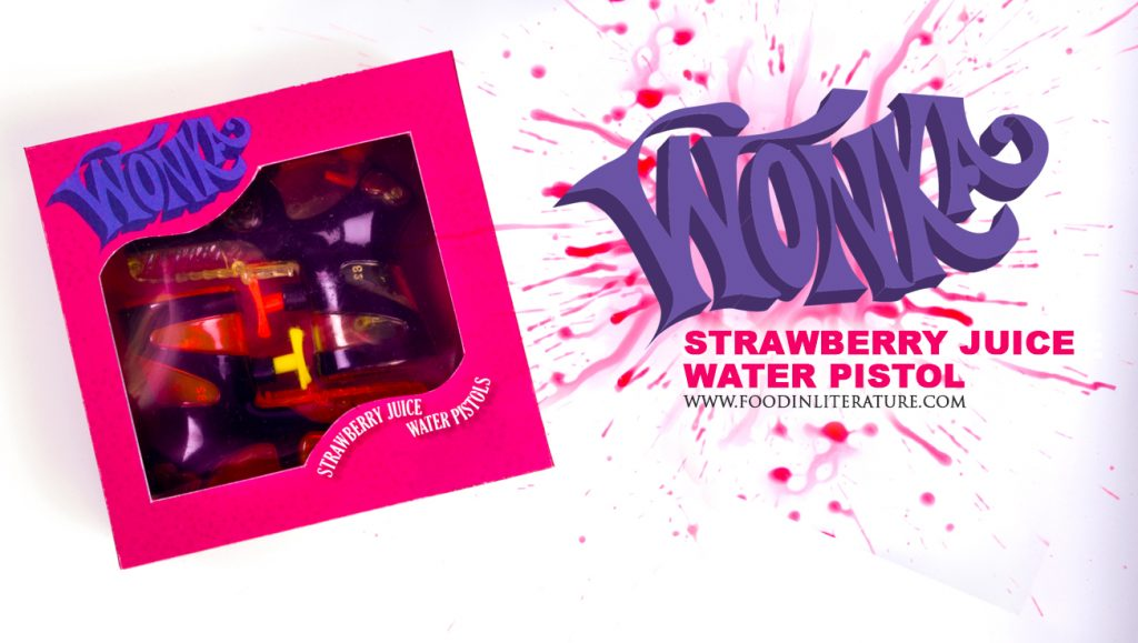 Willy Wonka Series; Strawberry Juice Water Pistols