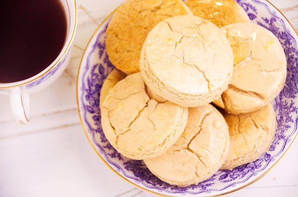 The Da Vinci Code; Earl Grey and Lemon Scones