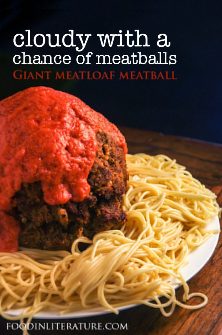Cloudy With A Chance Of Meatballs; Gigantic Meatball Meatloaf