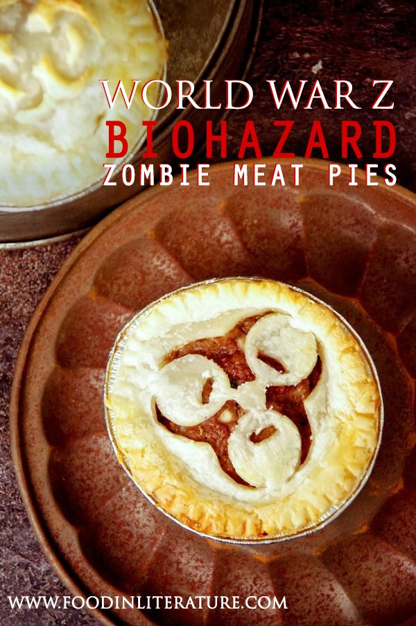 World War Z; Biohazard Zombie Meat Pies