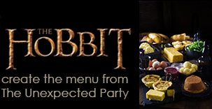 The Hobbit; An Unexpected Party Menu and Recipes