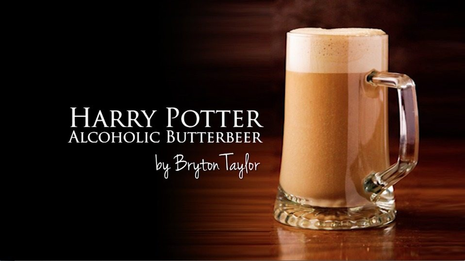 Harry Potter Alcoholic Butterbeer {video}