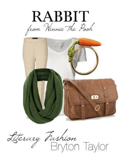 Literary Fashion; Rabbit from Winnie the Pooh