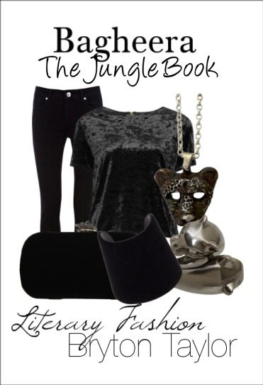Bagheera from The Jungle Book | Literary Fashion