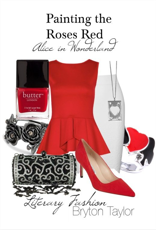 Alice in Wonderland's Painting the Roses Red   Literary Fashion