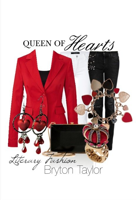 Queen of Hearts | Literary Fashion