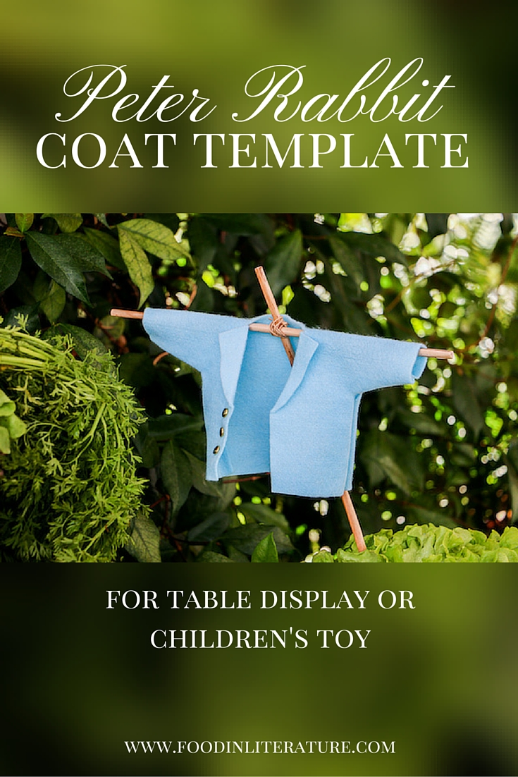 Peter Rabbit Coat Template