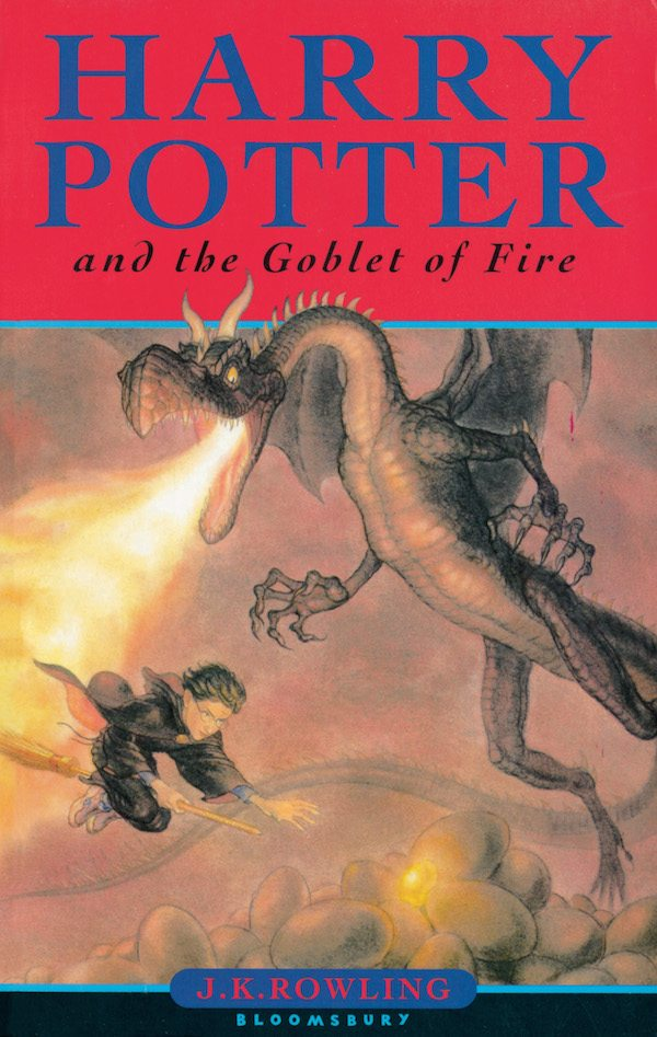 Harry Potter and The Goblet of Fire | JK Rowling (Food Reference List)
