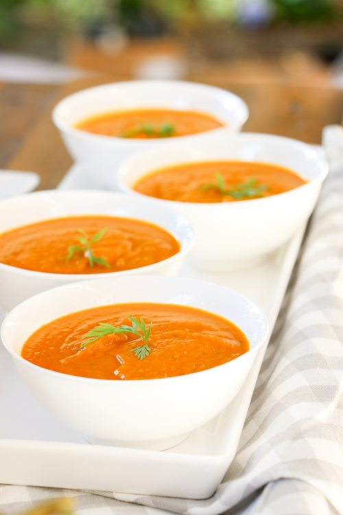 Rabbit's Carrot Soup