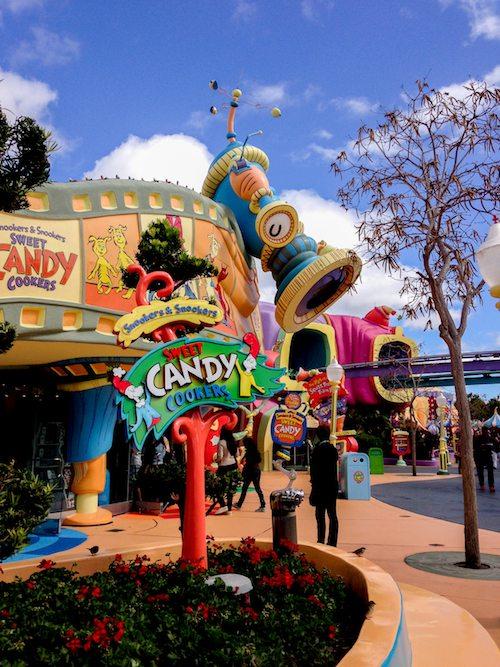 Visiting Seuss Landing at Universal's Island of Adventures