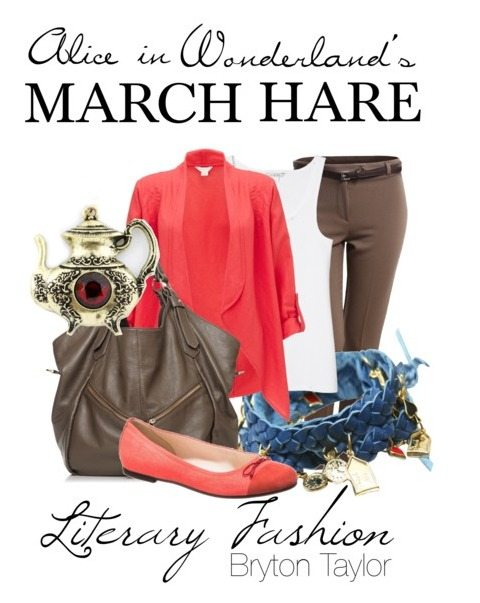 Literary Fashion | Alice in Wonderland's March Hare