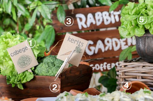 Rabbit's Garden Easter Table | Winnie the Pooh