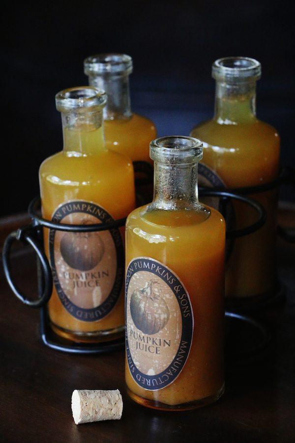 Copycat Wizarding World of Harry Potter Pumpkin Juice recipe