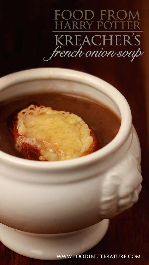 Kreacher's French Onion Soup recipe | Harry Potter