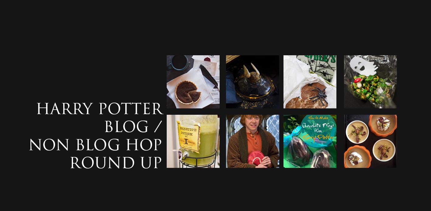Harry Potter Blog /Non Blog Hop round up for September 2014