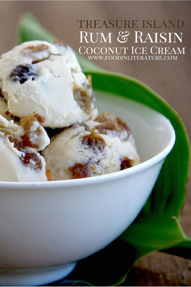 Treasure Island | Rum and Raisin Coconut Ice Cream