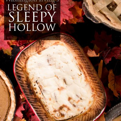 Sleepy Hollow Sour Cream Peach Pie