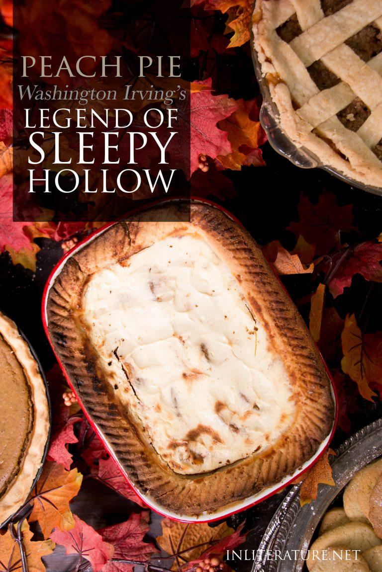 Sleepy Hollow Sour Cream Peach Pie