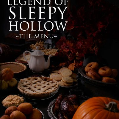 Throw a Legend of Sleepy Hollow Party; The Menu From The Book