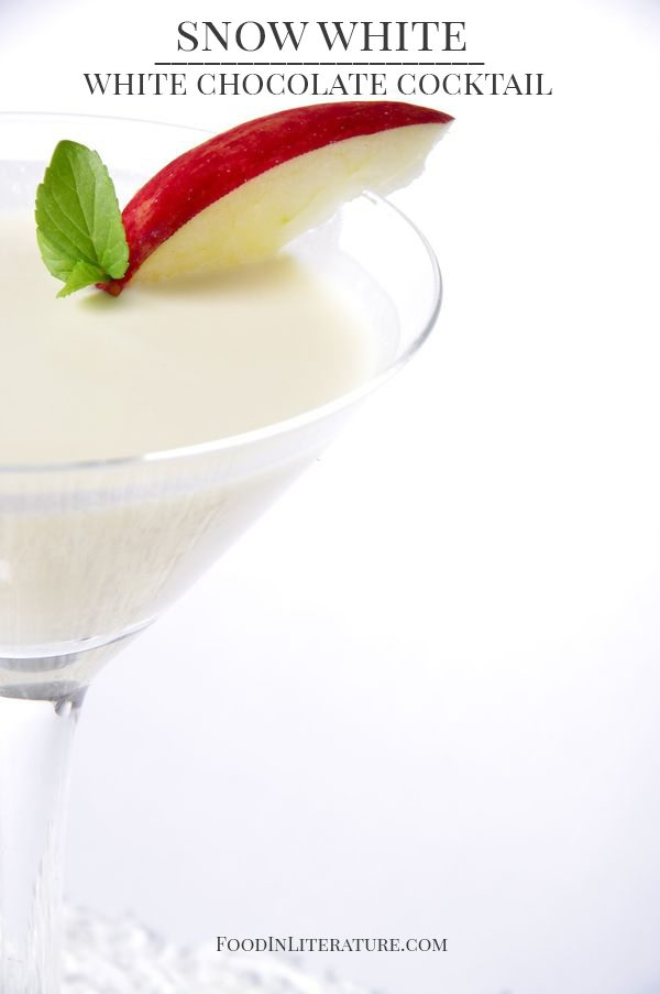 Snow White Chocolate Cocktail