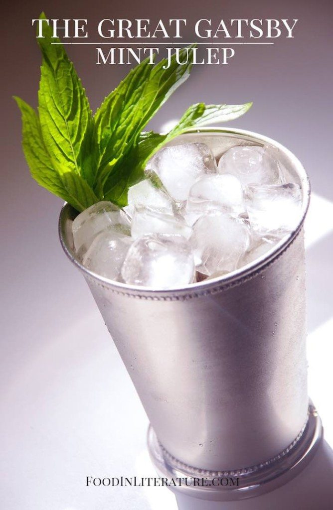 The Great Gatsby Mint Julep Food in Literature