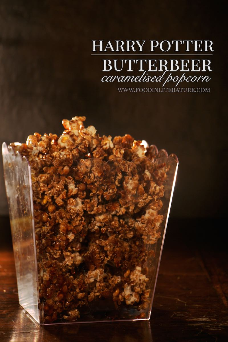 Butterbeer Caramelised Popcorn | Harry Potter