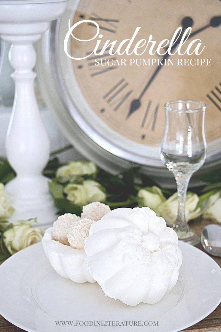 Cinderella sugar pumpkin dessert bowl