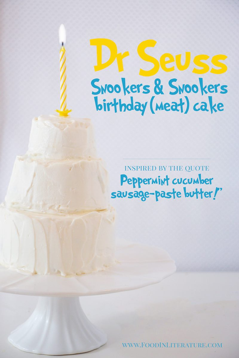 Snookers and Snookers Birthday Cake | Dr Seuss