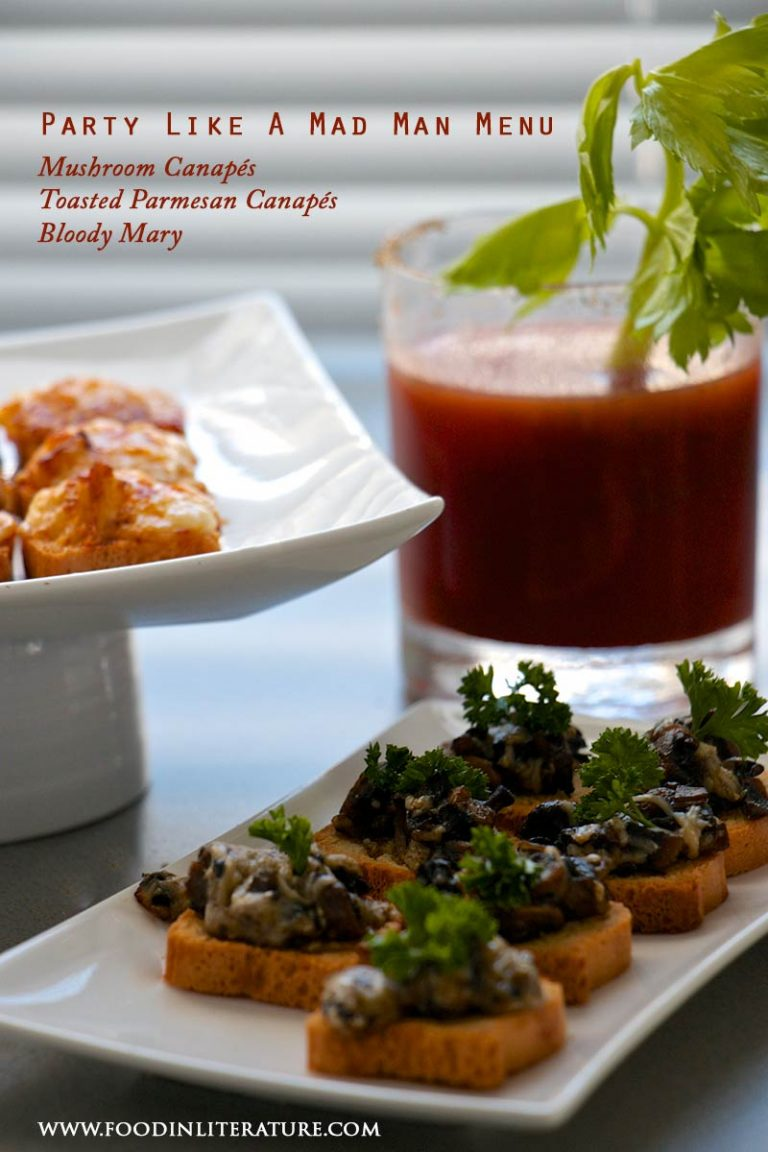 Party Like A Mad Man Appetizers