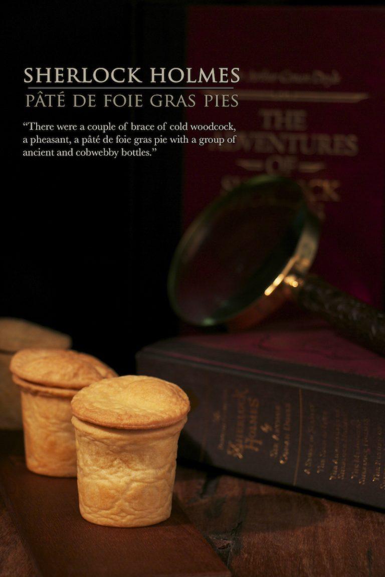 Pâté de foie gras pie | Sherlock Holmes