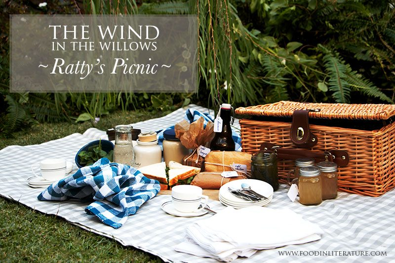 Wind in the Willows Ratty's picnic
