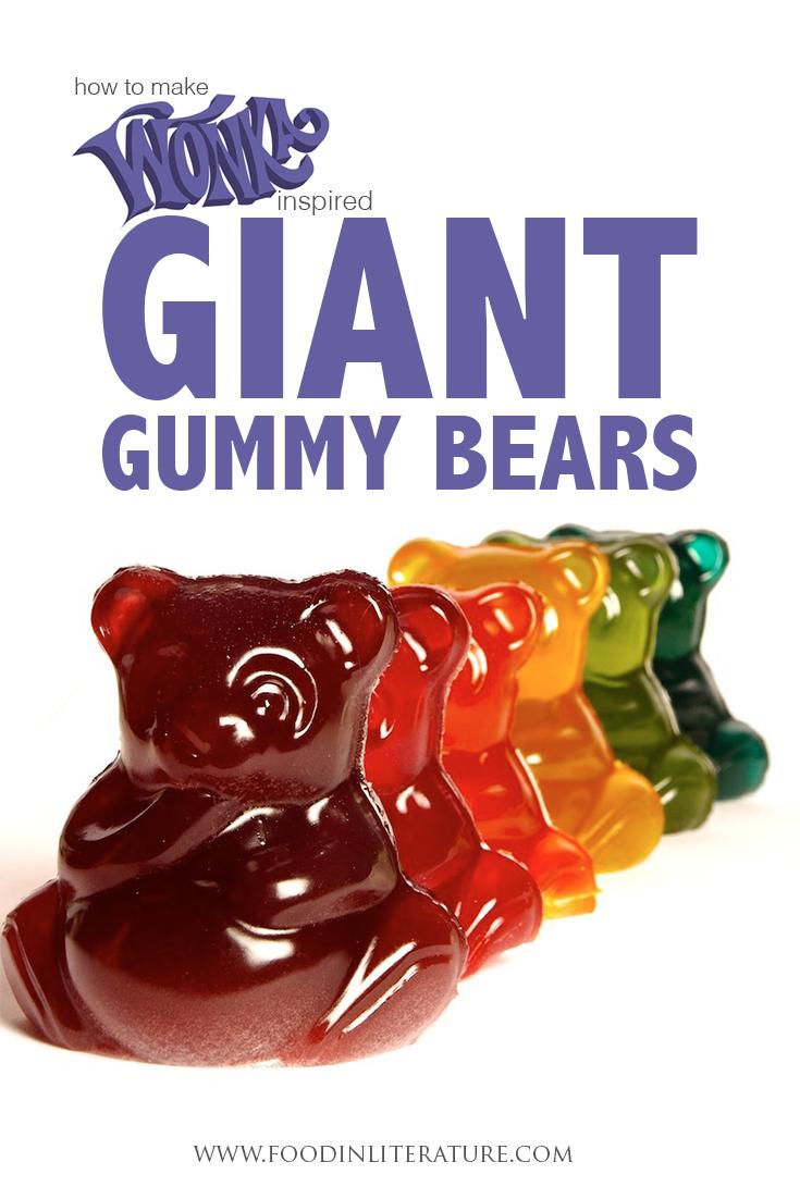 Willy Wonka Series; Giant Gummy Bears