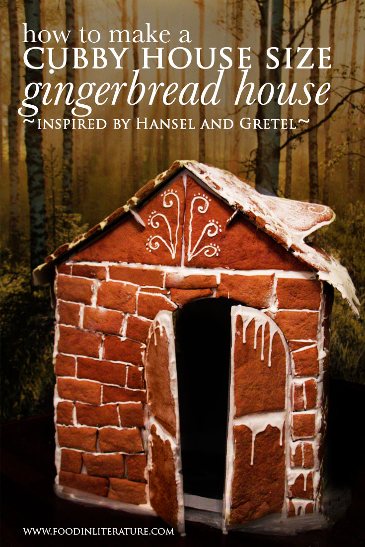 How To Make A Cubby House Size Hansel & Gretel Gingerbread House
