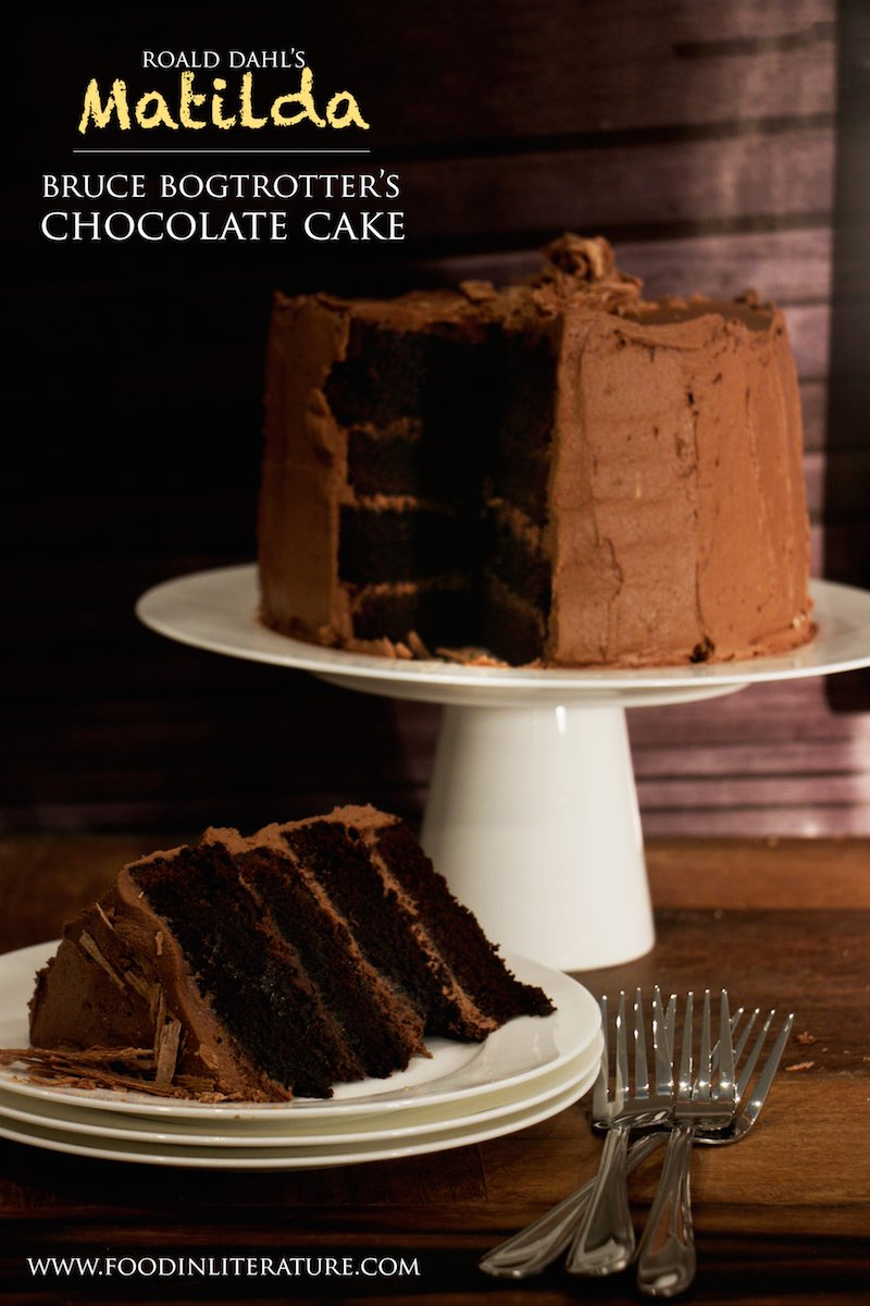Bruce Bogtrotter's Chocolate Cake | Matilda