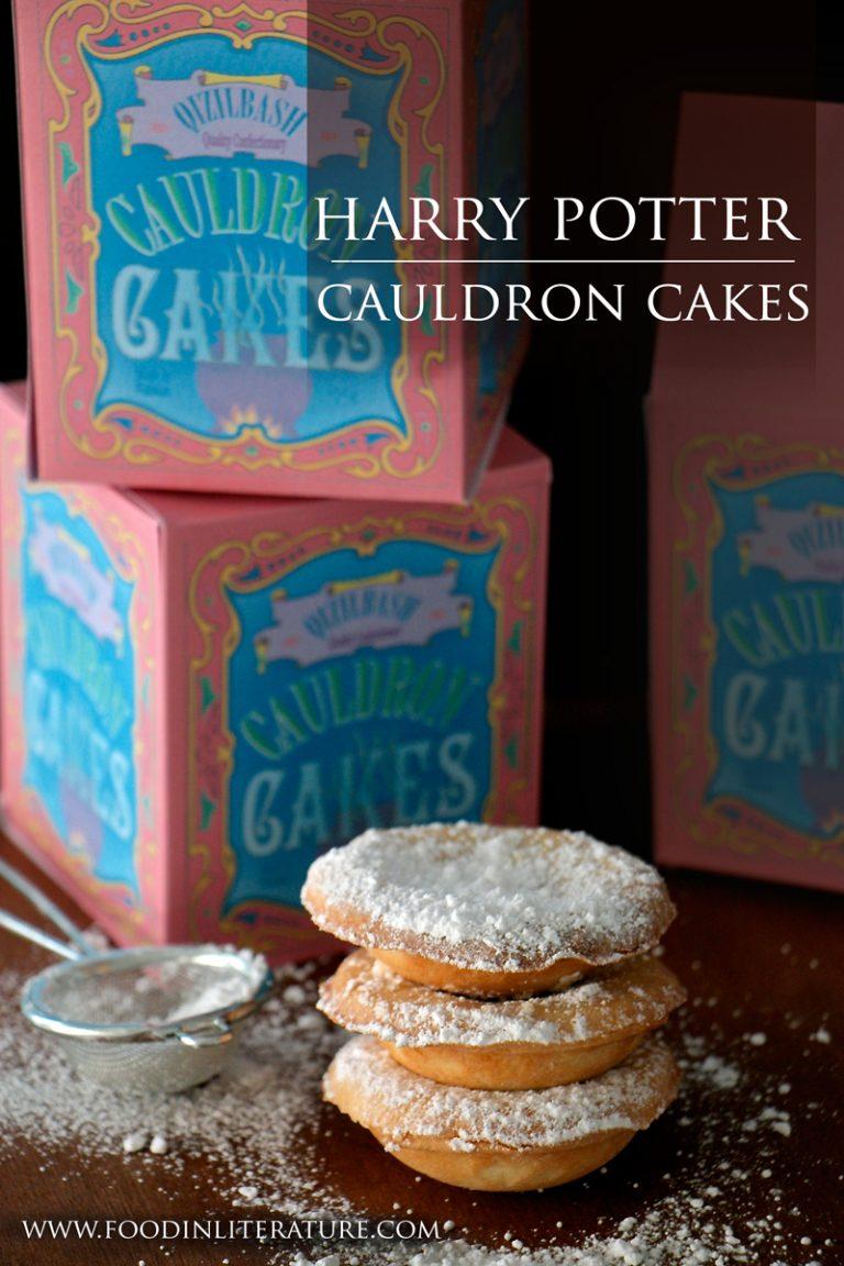 Cauldron Cakes | Harry Potter Series