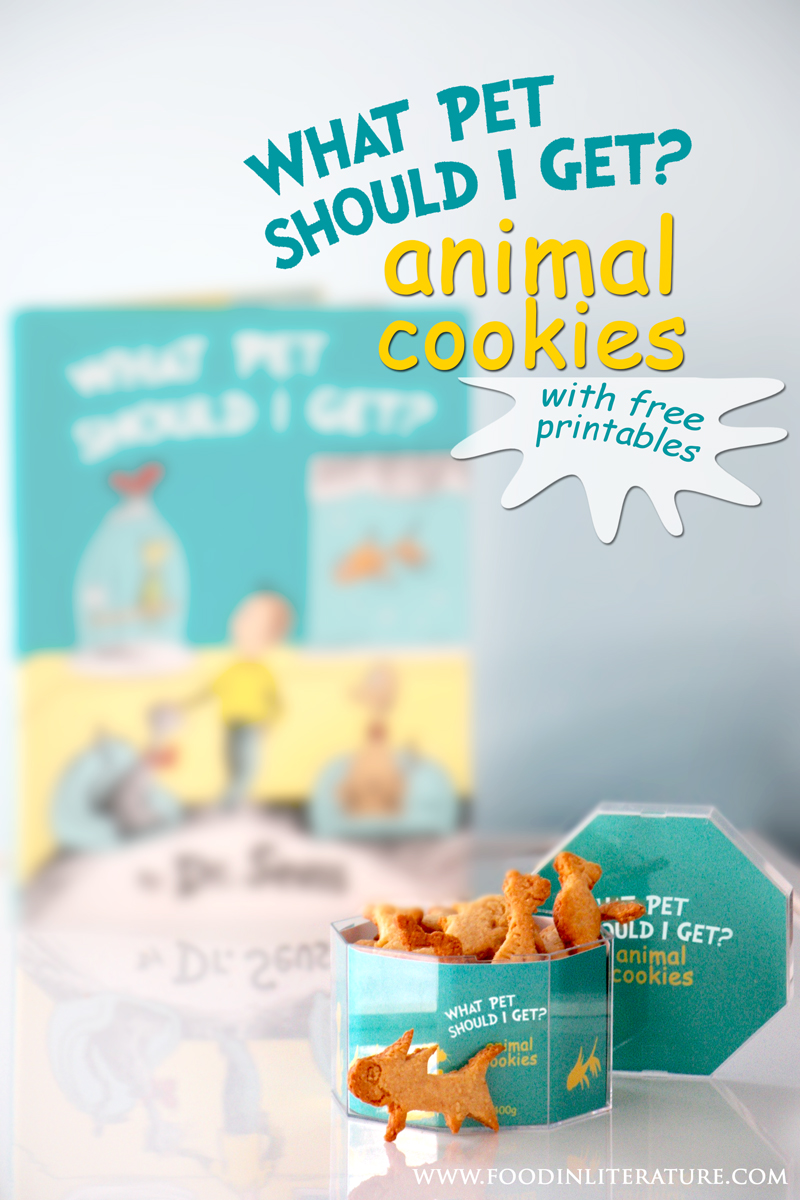 Dr Seuss' What Pet Should I Get Animal Cookies