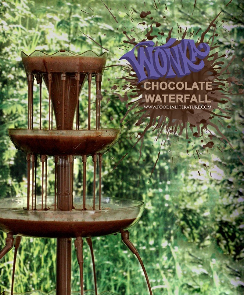 Willy Wonka Series; Mug of Chocolate Waterfall
