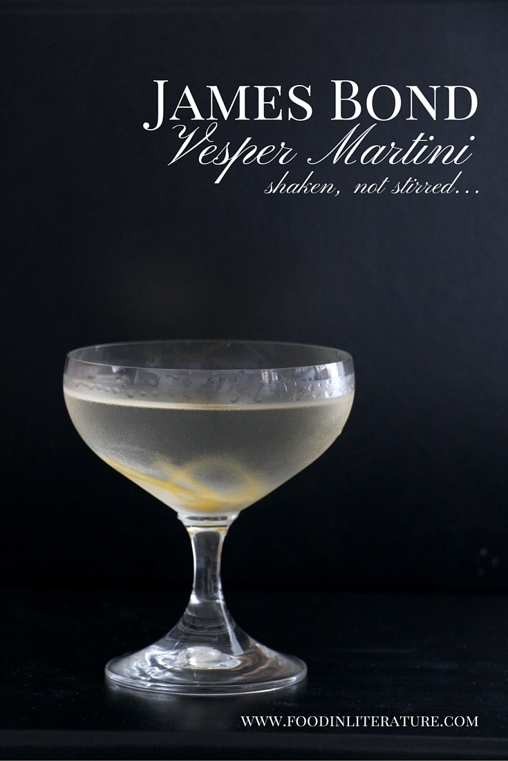 James Bond Vesper Martini recipe