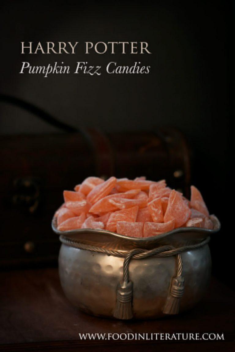 Pumpkin fizz candies | Harry Potter