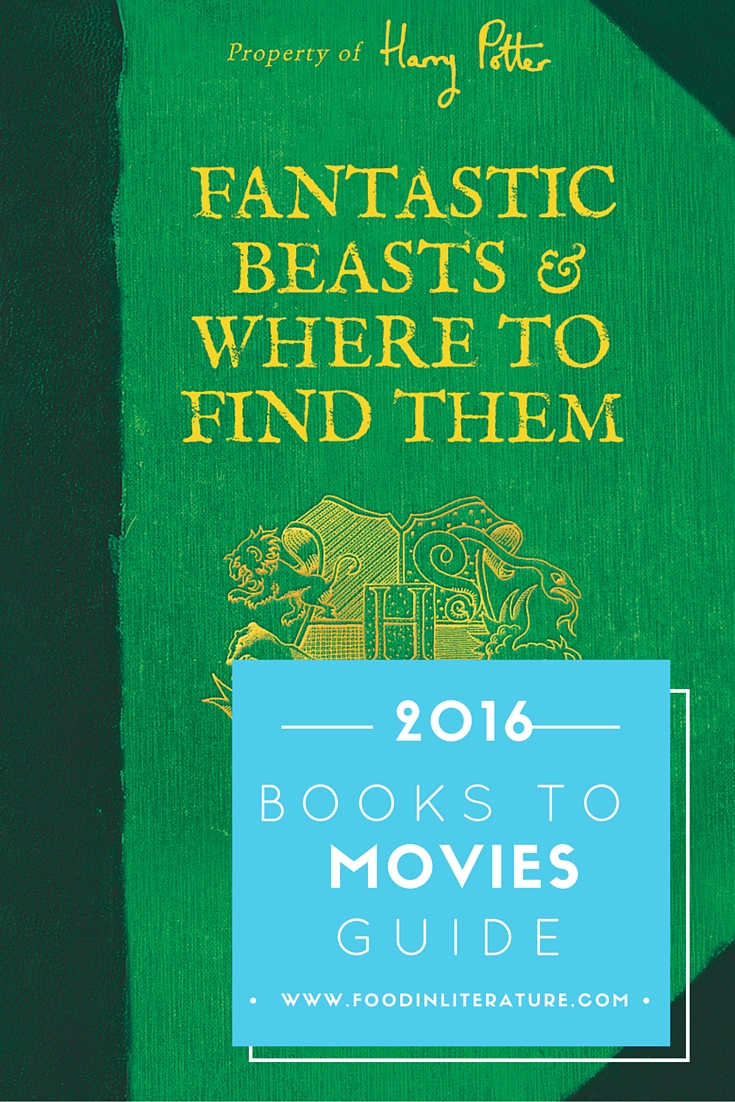 2016 Books to Movies Guide