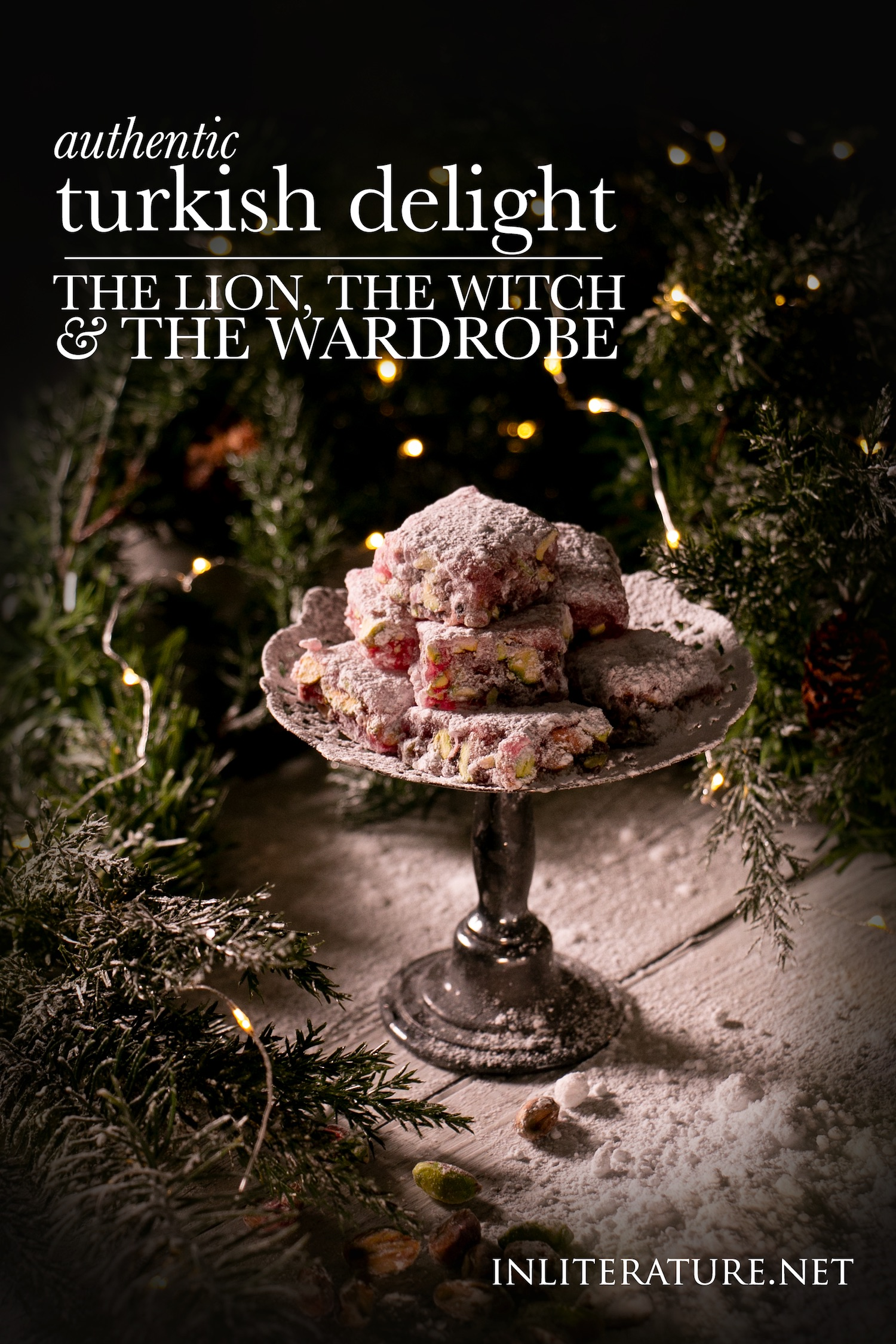 Turkish Delight | The Chronicles of Narnia; The Lion, The Witch and The Wardrobe