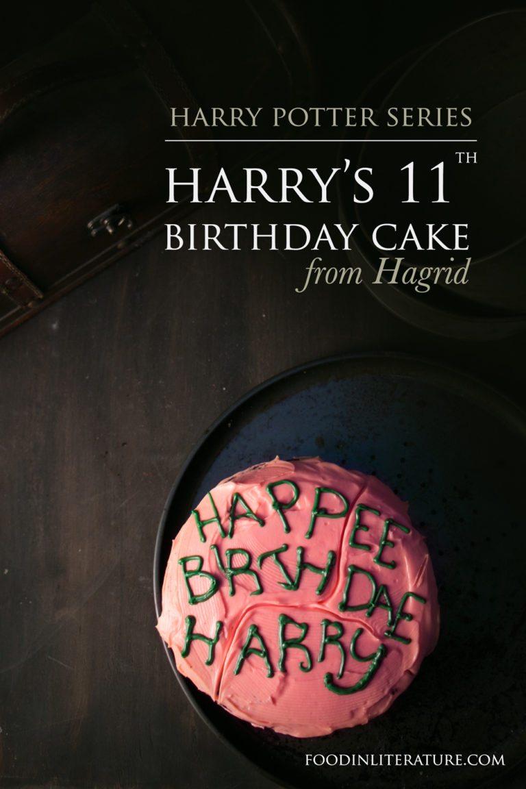 Harry's 11th Birthday Cake from Hagrid