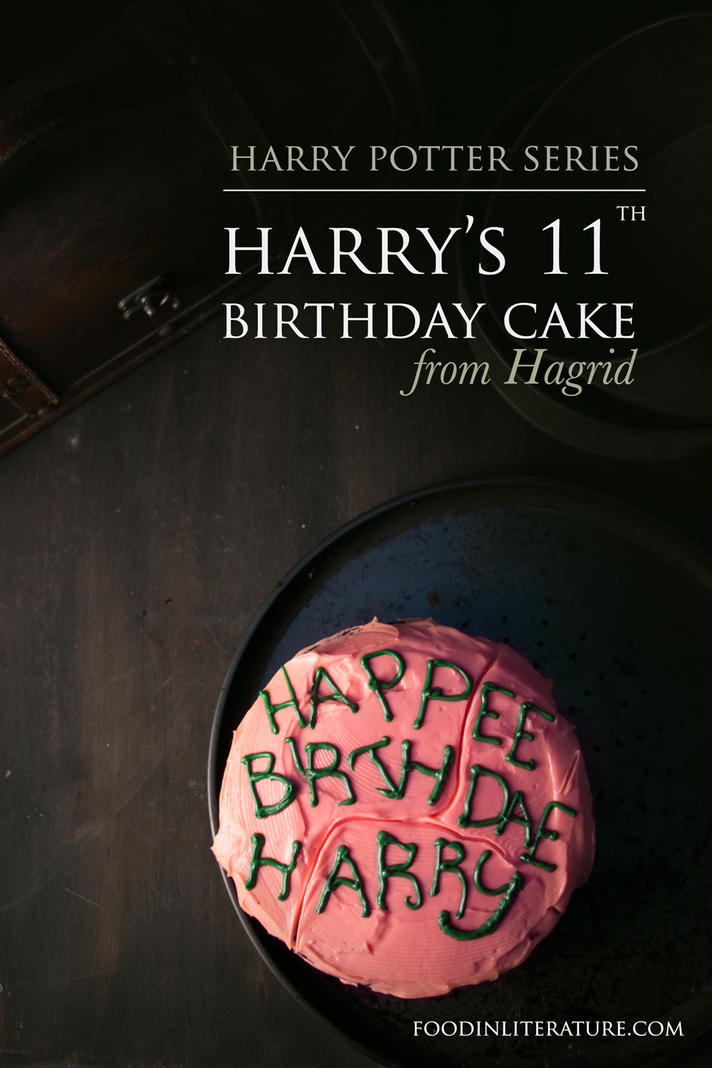 Harry's 11th Birthday Cake from Hagrid