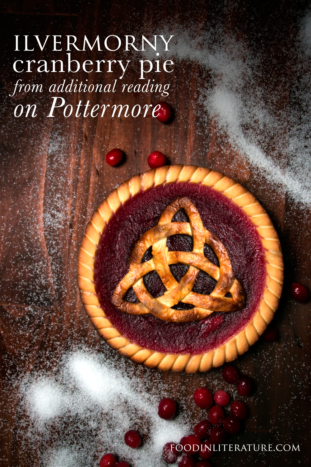Ilvermorny Cranberry Pie | Pottermore