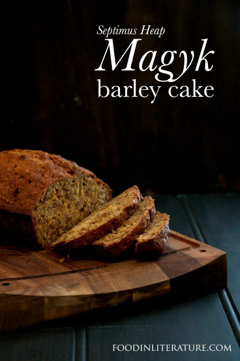 Barley Cake | Magyk: Septimus Heap