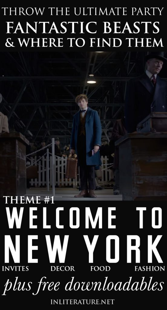 'Welcome to 1920s New York' Theme | Fantastic Beasts and Where To Find Them Party